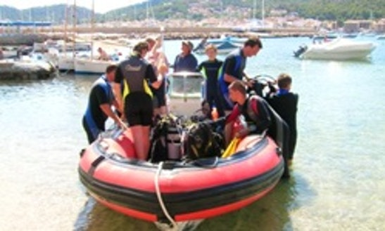 Dive Boat Trips With Lotha In Port D'andratx Dive Site