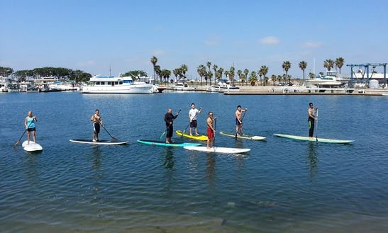 Paddleboard Lessons In Huntington Beach