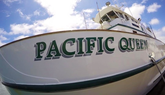 88' Pacific Queen Fishing Charter In San Diego