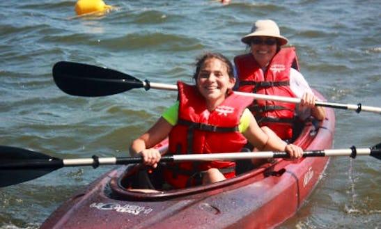 Rent A Double Kayak In Wareham, Massachusetts