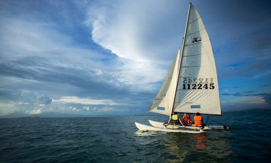 Sailing Lessons In Kep City, Combodia