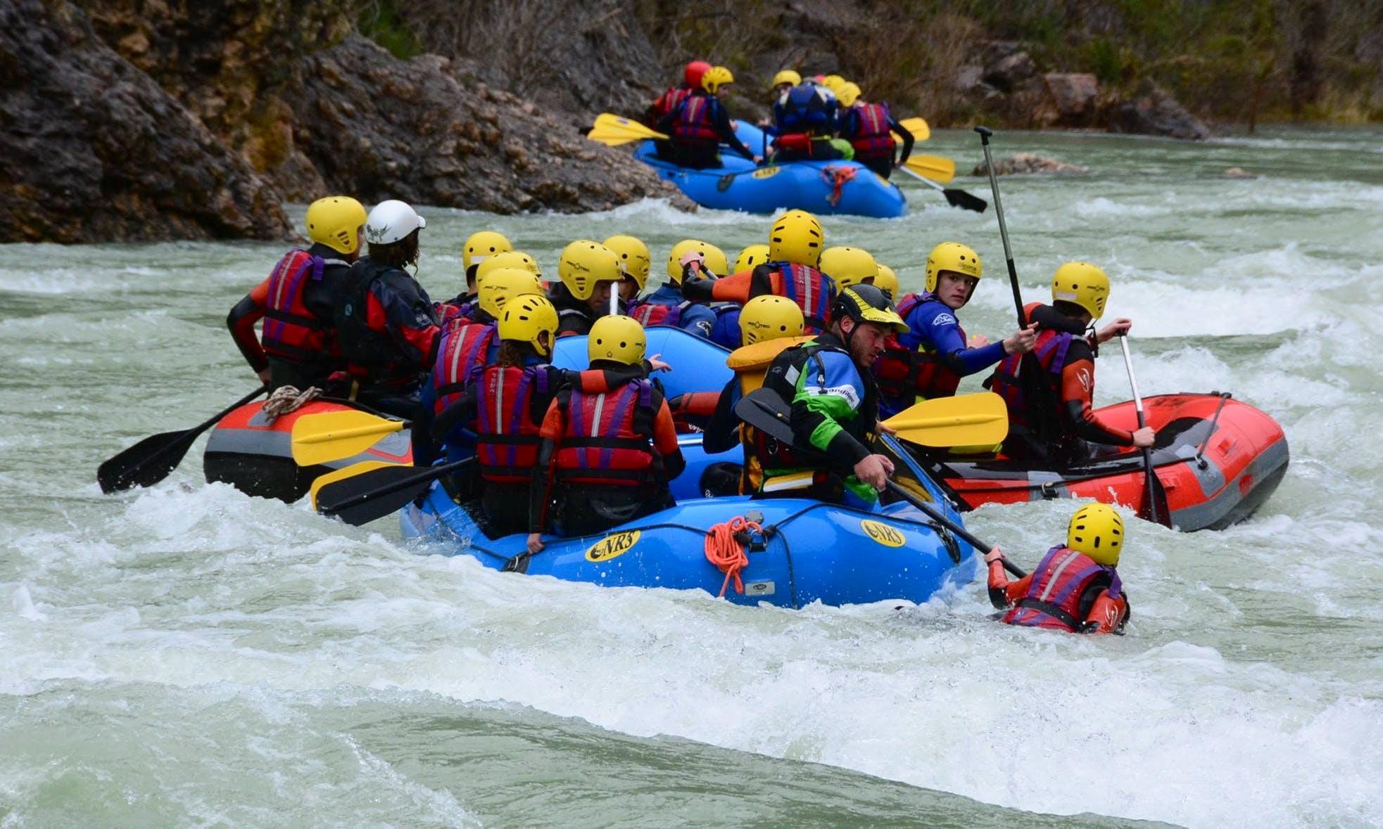 Rafting Tour in Murillo de Gállego