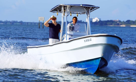 Rent A 26' Panga Boat In Miami Beach, Florida