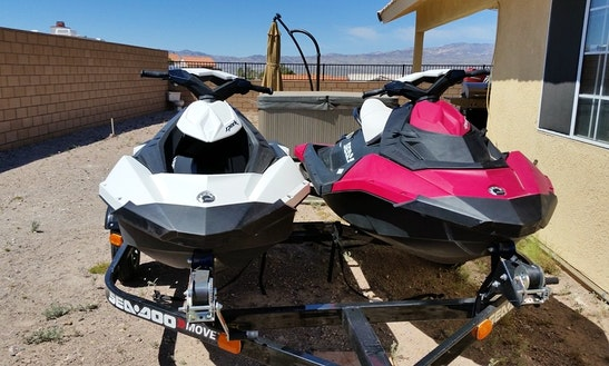 2 Brand New 2015 Seadoo Sparks!!