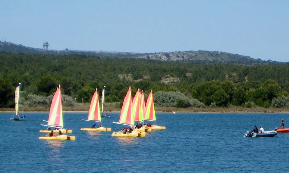 Funboat Lesson in Gruissan