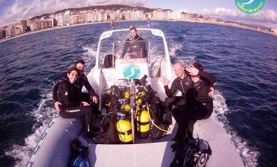 Rib Diving Trips In Sanxenxo, Spain