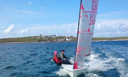 Sailing Lesson With Laser 1 Dinghy In Letterkenny, Ireland