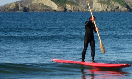 Paddleboard In Pembrokeshire