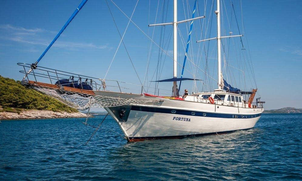 """Fortuna"" Sailing Gulet Charter in Split"