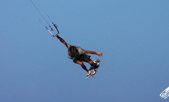 Kiteboarding In Riva Del Garda