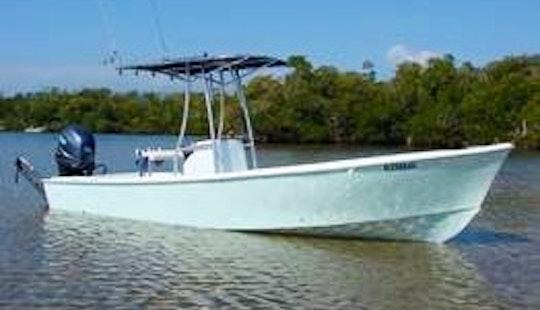 Enjoy 23 Ft Aquasport Fishing Charter In Fort Myers, Florida