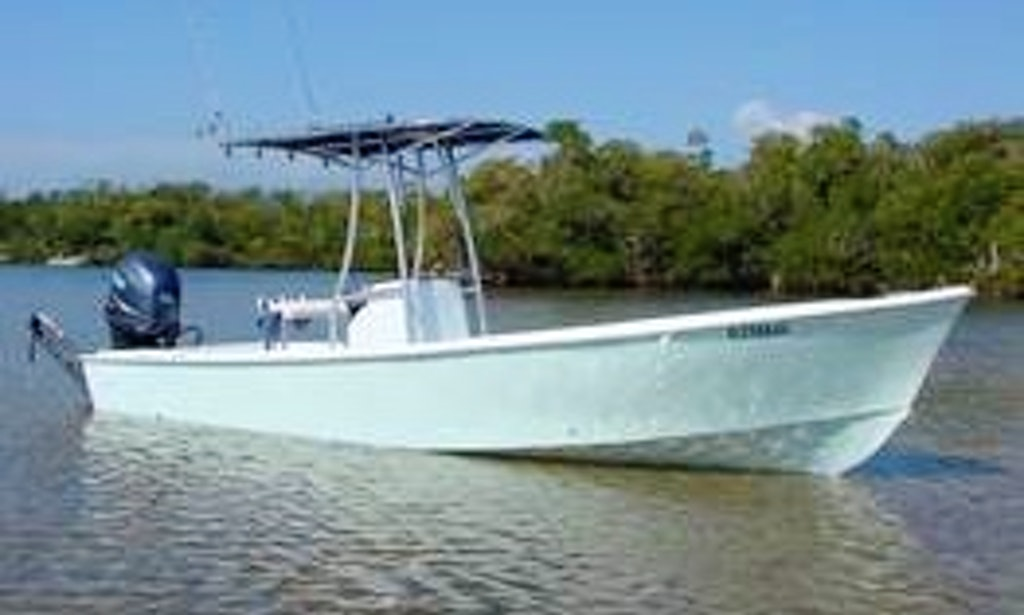 Enjoy 23 ft aquasport fishing charter in fort myers for Fishing charters fort myers
