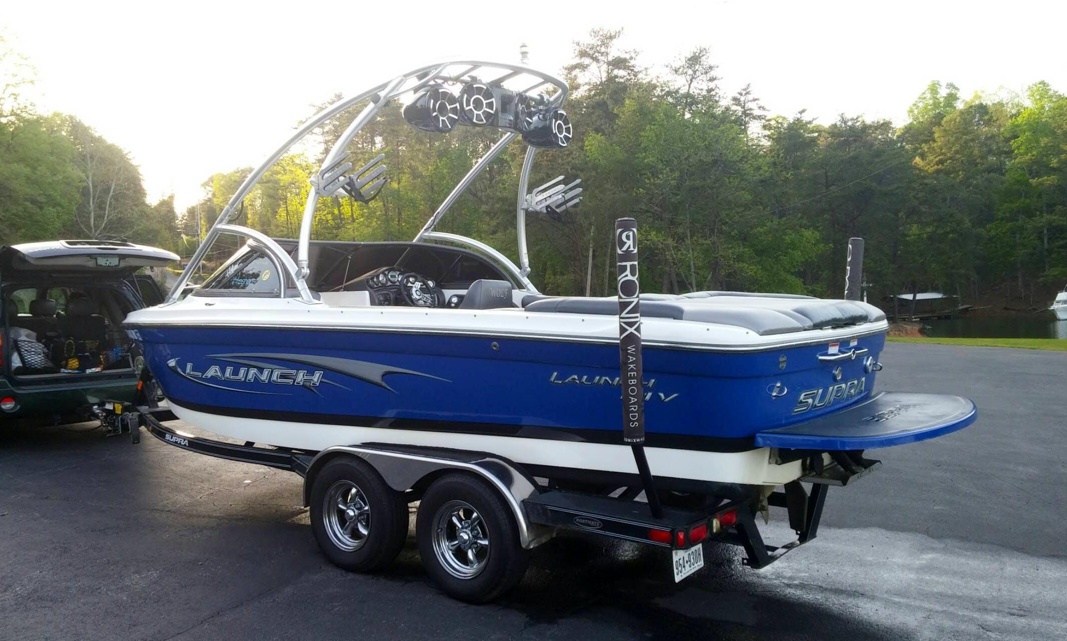22' Supra Launch Bowrider Rental In Cumming, Georgia