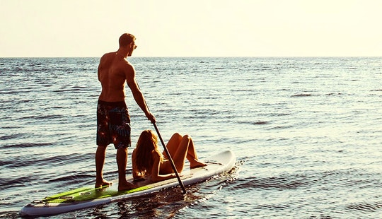 Stand Up Paddleboard Hire In Vulcano