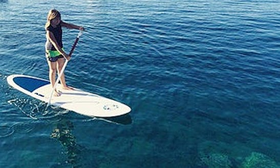 Excellent And Fantastic Paddleboard Experience In Playa Blanca, Spain