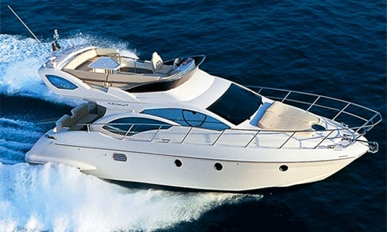 Charter The Azimut 43 Fly Motor Yacht In Marbella