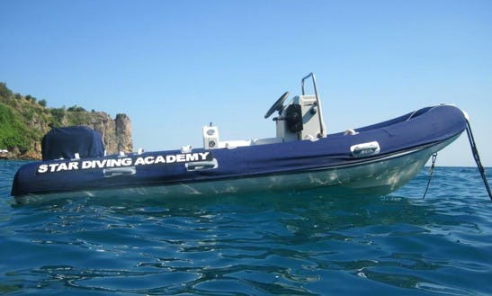 Rib Boat Diving Trips In Turkey