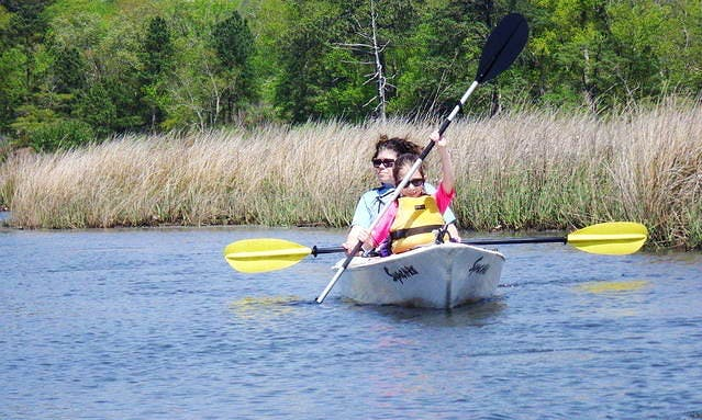 Kayaking Dophin Trips in Virginia Beach