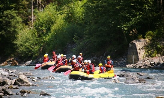 Rafting Tour In Verchaix
