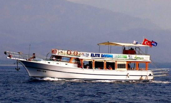 Boat Diving In Yanıklar Köyü