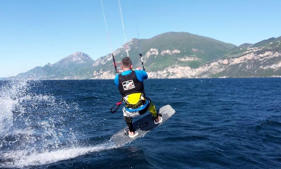 Kiteboarding Lesssons in Brenzone
