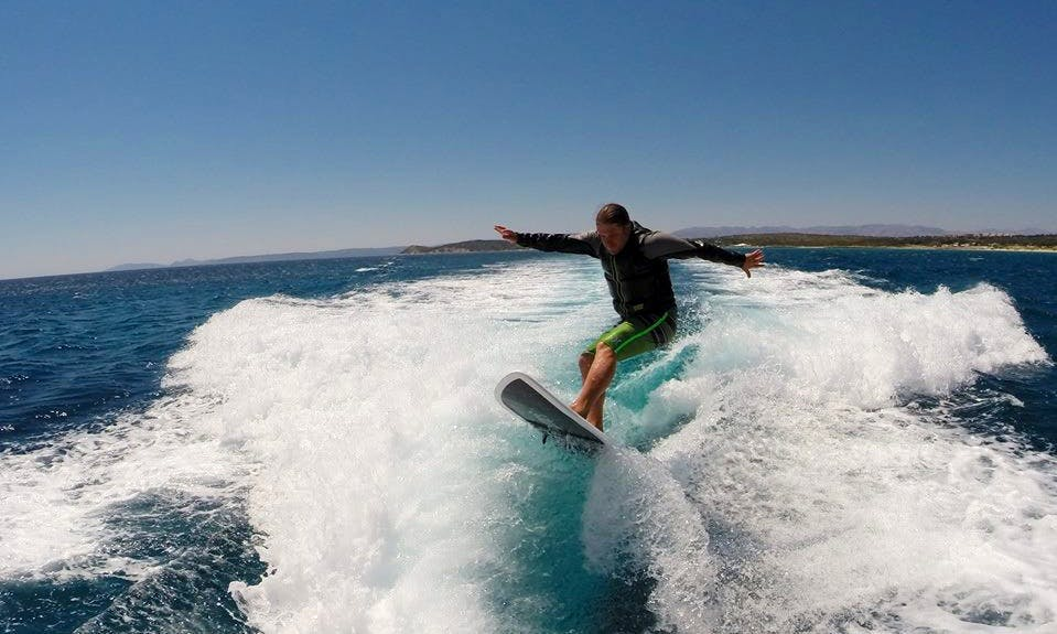 Wakesurfing in Turkey