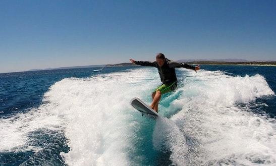 Wakesurfing In Turkey