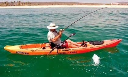 Fishing Kayak Tours in Sant Carles de la Ràpita