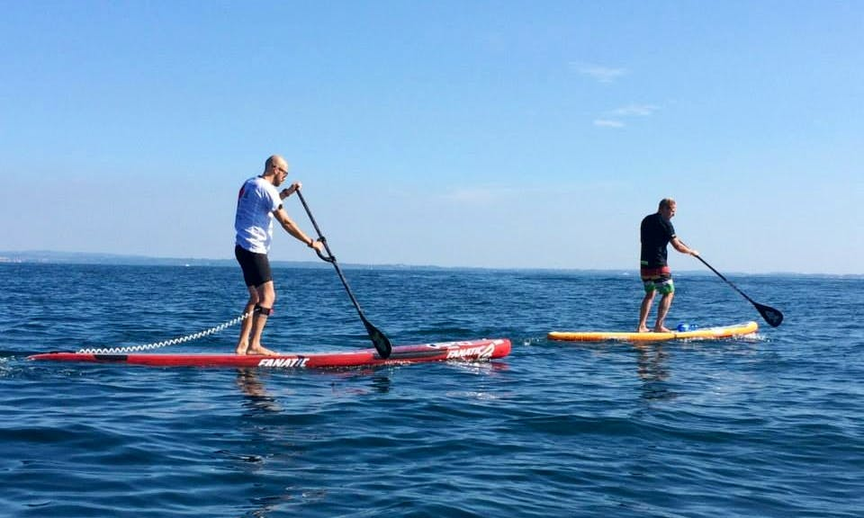 Paddleboarding Trip on Lake Garda in Manerba del Garda, Lombardia