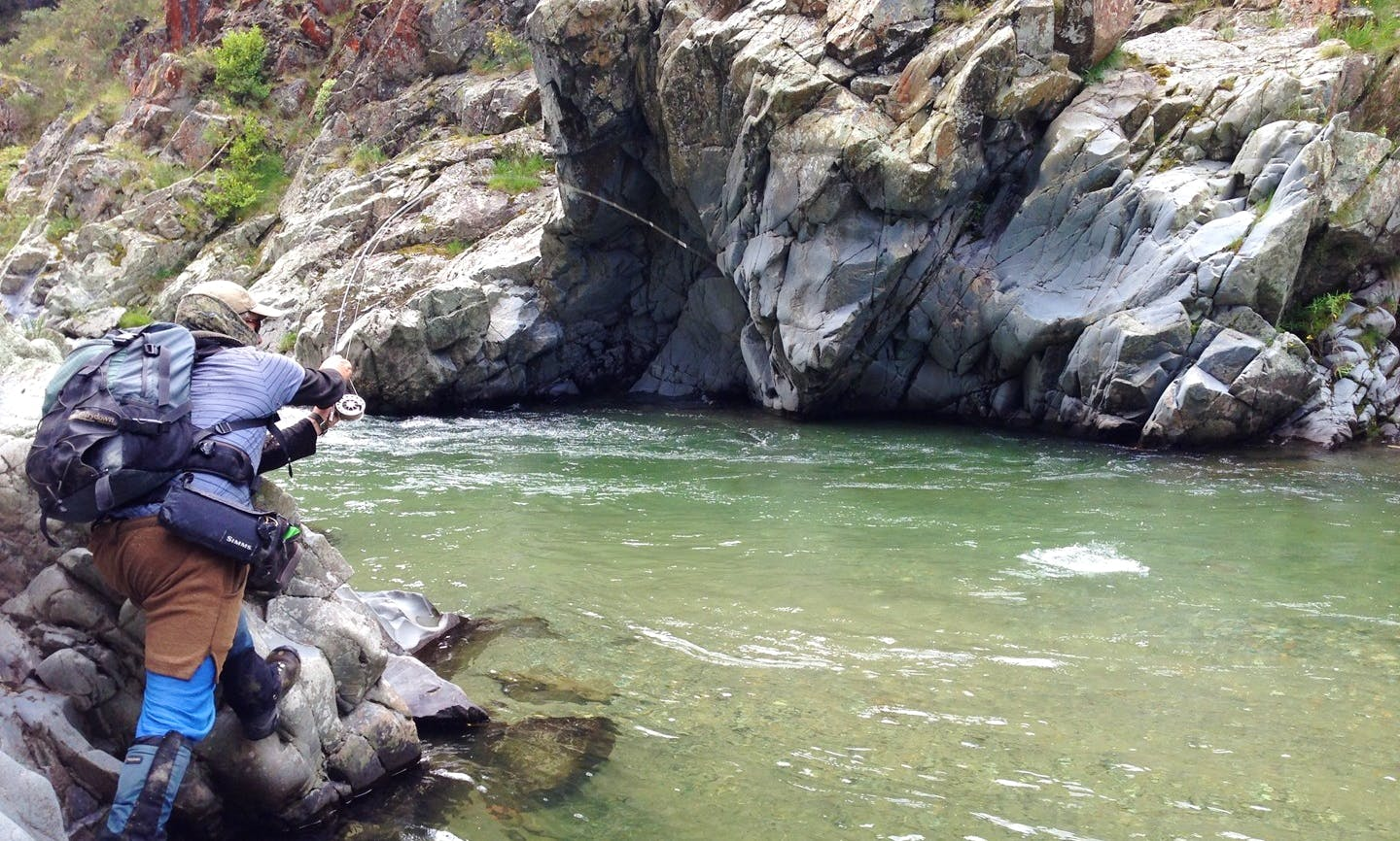 Backcountry Fly Fishing Trip In Christchurch