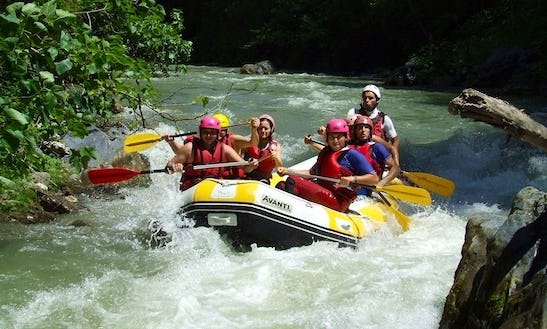 Daily Rafting Trips In Orsomarso