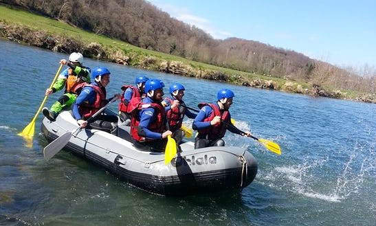 Rafting Trips In Montaut, France