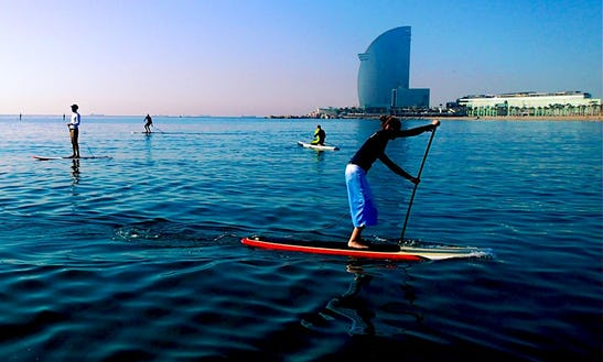 Paddleboard Rental And Lessons In Arona