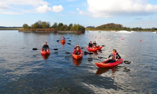 Single Kayaking Hire & Trips In Blackpool