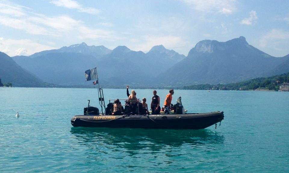 Scuba Diving In Talloires-Montmin