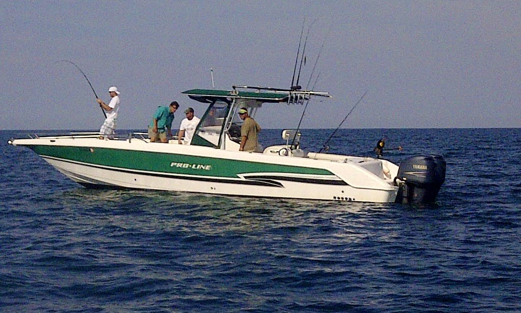 "35' ""Bite Me harder"" Center Console Fishing Charter in North Myrtle Beach, South Carolina"