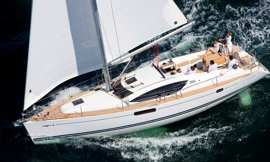 Sun Odyssey 45 Ds Cruising Monohull Charter In Antibes, France