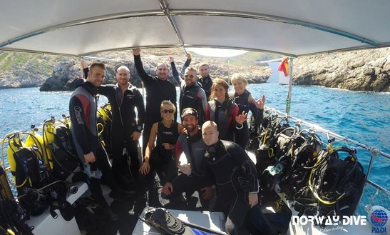 Diving Trips In Torrenova, Spain