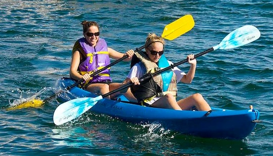 Double Kayak Hire In South Sinai