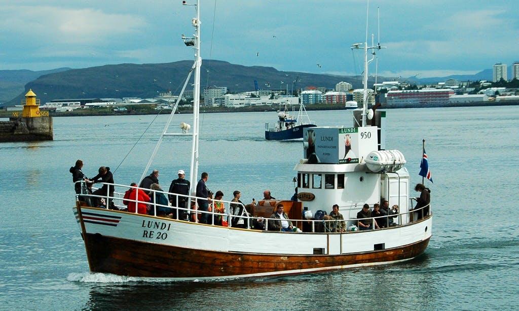'Lundi RE 20' Cruising in Reykjavík
