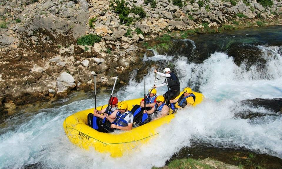 Rafting Tour in Zagreb