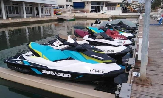 Brp Gti Jet Ski Rental In Torrevieja, Spain