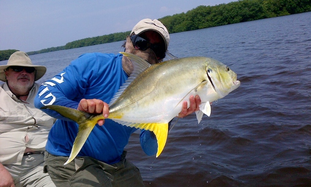 Enjoy action craft flats boat fishing charters in san juan for Fishing in san juan puerto rico