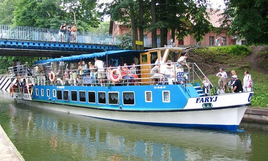 'faryja' Boat Cruising In Ruciane-nida