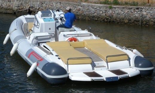 """BIBA 58"" Boat Hire in Orbetello"