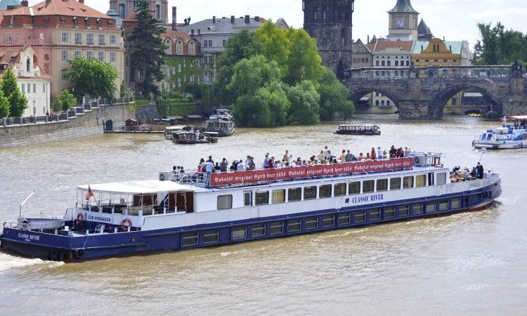 Dinner Cruise with Music in Prague