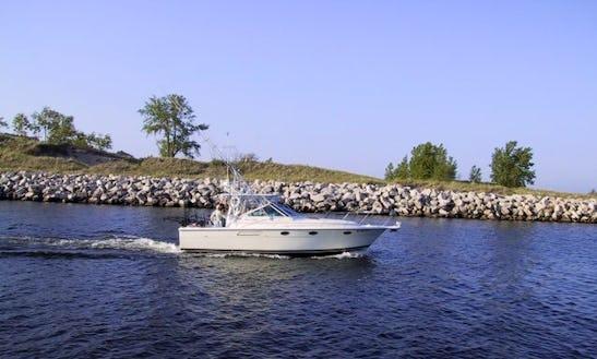 'tiara Open' Fishing Charter In Grand Haven