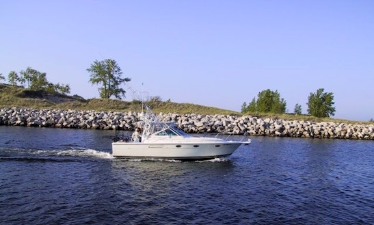 'tiara Open' Fishing Charter In Grand Haven