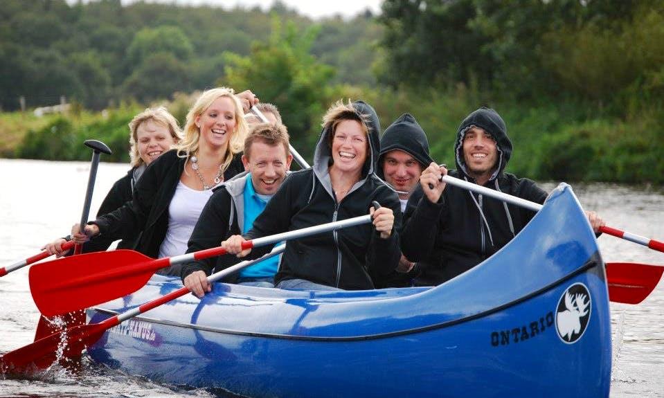 """Giant"" Canoeing Trips in Ommen"