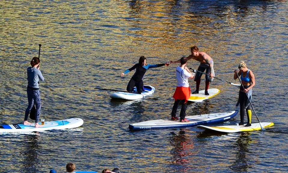 Paddleboard Lesson Rental in Prague